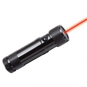 Фонарь Brennenstuhl Eco-LED Laser Light FL Duo светодиодный, 8 LED лазер, алюминиевый корпус