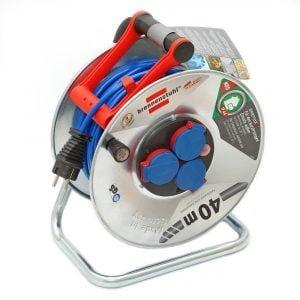Удлинитель на катушке Brennenstuhl Garant S, 40м., 16A; 3300W, IP44, 3 розетки, кабель Bremaxx AT-N05V3V3-F 3G1.5 мм.кв. / 1199840