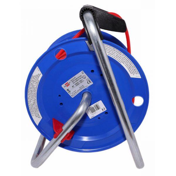 Удлинитель на катушке Brennenstuhl Garant G, 25м., 16A; 3300Вт., IP20, с выносной розеткой, кабель H05VV-F 3G1,5 мм.кв. / 1141740