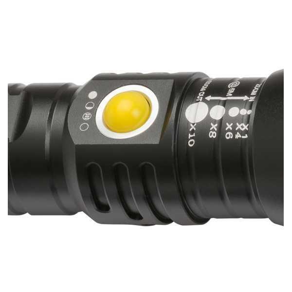 Фонарь Brennenstuhl LuxPremium LED TL 450AF-IP44 светодиодный, аккумуляторный, алюминиевый корпус
