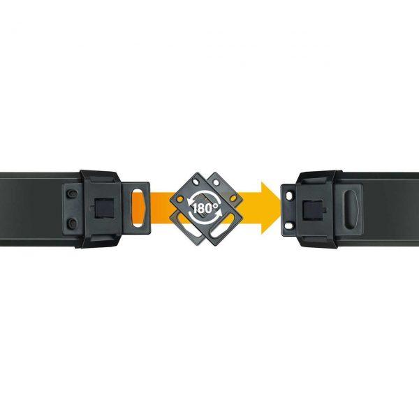Удлинитель Premium-Line, 3м, 16А, 3600Вт. 5 розеток - 5 выключателей, кабель H05VV-F 3G1,5кв.мм. / 1951550600