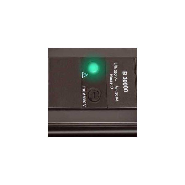 Сетевой фильтр Premium-Line, 30.000А, 1,8м, 4 розетки с выключателем, кабель H05VV-F 3G1,5кв.мм.