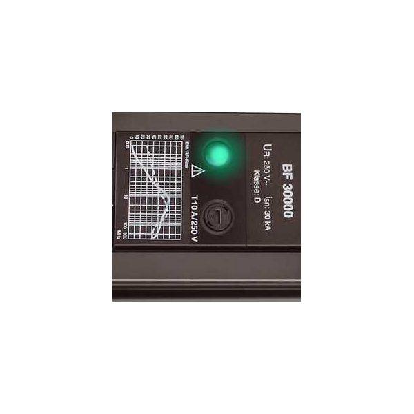 Сетевой фильтр Premium-Line, 30.000А, 3м, 6 розеток с выключателем, кабель H05VV-F 3G1,5кв.мм., 2 USB порта - 5V 2100 mA