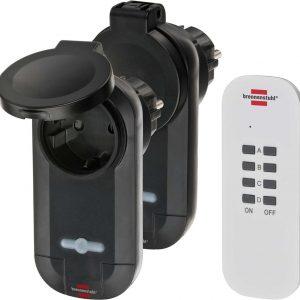 Набор розеток Comfort-Line, 2шт. с дистанционным управлением, IP 44, 16А, 1000Вт. / 1507030
