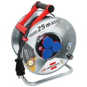Удлинитель на катушке Garant S, 3 розетки, IP44, кабель 25м H07RN-F 3G2,5, 3300Вт, 230В, 16А