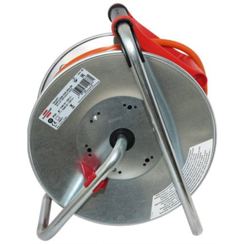 Удлинитель на катушке Garant S, 3 розетки, IP44, кабель 25м AT-N07V3V3-F 3G2,5, 3300Вт, 230В, 16А