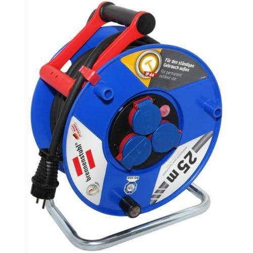Удлинитель на катушке Garant, 3 розетки, IP44, кабель 25м H07RN-F 3G2.5