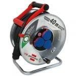Удлинитель на катушке Garant S, 3 розетки, IP44, кабель 40м H05RR-F 3G2,5