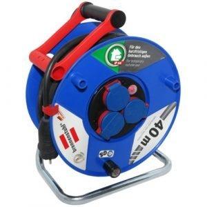 Удлинитель на катушке Garant, 3 розетки, IP44, кабель 40м H05RR-F 3G2,5