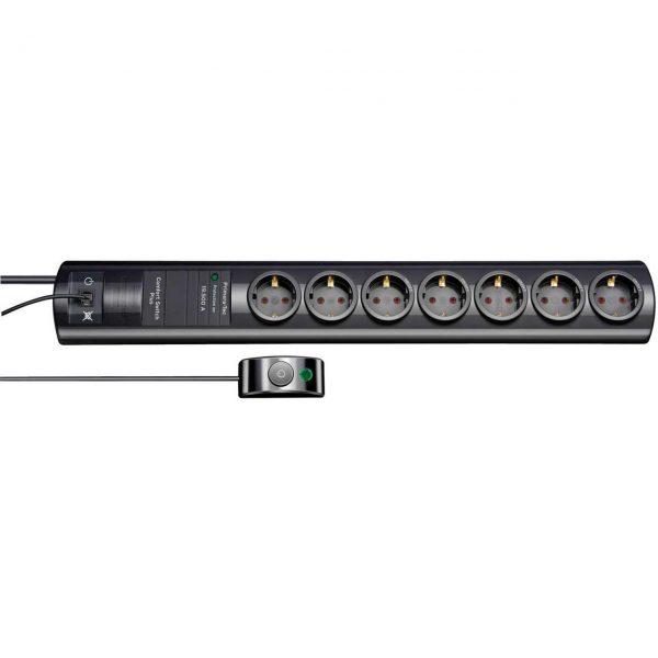 Сетевой фильтр Primera-Tec Comfort Switch Plus, 2м, 7 розеток с выносным выключателем / 1153300467